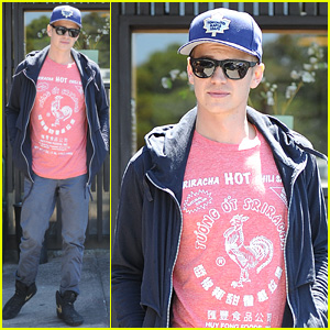 Hayden Christensen Spices Things Up with a Sriracha Sauce T-Shirt