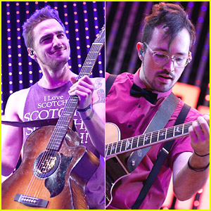 Heffron Drive Covers Avicii & MAGIC During CityWalk Concert - Watch Their Performances!