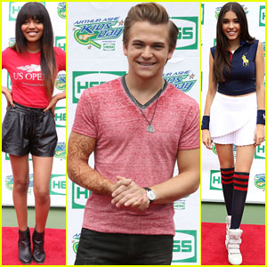 Hunter Hayes & China Anne McClain Stop By Arthur Ashe Kids' Day 2014!
