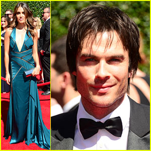 Ian Somerhalder Lives Dangerously at the Creative Arts Emmys 2014 with Nikki Reed!