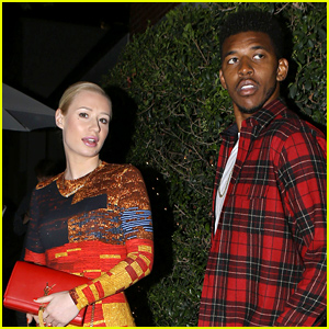 Iggy Azalea & Nick Young Have Dinner After Her Funny James Franco Interview (Video)