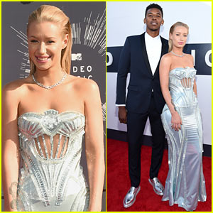 Iggy Azalea & Boyfriend Nick Young Hit Red Carpet at MTV VMAs 2014!