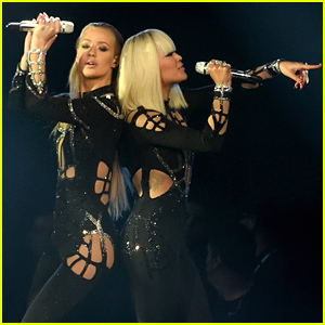 Rita Ora & Iggy Azalea Perform 'Black Widow' at MTV VMAs 2014 - Watch Now!