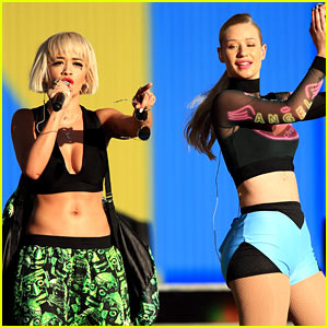 Iggy Azalea & Rita Ora Perform Together at Made in America!