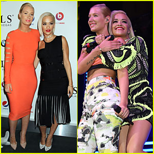 Iggy Azalea & Rita Ora Are Inseparable at SLS Las Vegas Opening