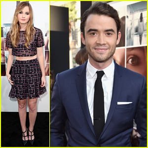 Jamie Blackley & Liana Liberato Premiere 'If I Stay' in Hollywood