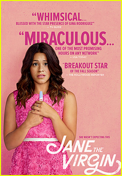 Gina Rodriguez Shines Like a Star on New 'Jane the Virgin' Poster!