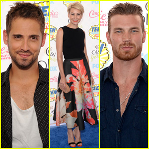 Jean-Luc Bilodeau, Chelsea Kane, & 'Baby Daddy' Cast Hit the Teen Choice Awards 2014!