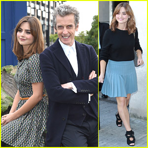 Jenna Coleman Returns To London Just Ahead of 'Doctor Who' Premiere