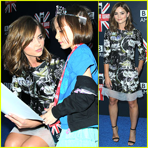Jenna Coleman With Young Fans At 'Doctor Who' Fan Screening Is Just The Cutest Thing Ever