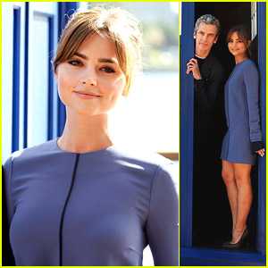 Jenna Coleman Takes 'Doctor Who's TARDIS To Sydney