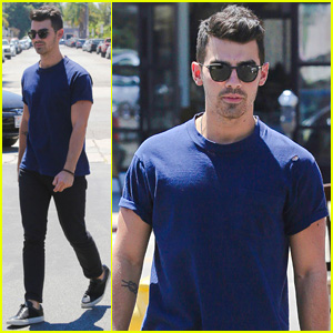 Joe Jonas Visits Alfred Coffee & Kitchen Twice in One Week