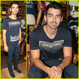 Joe Jonas Reveals His Favorite Kind of Pizza!