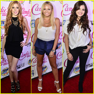 Katherine McNamara & Alli Simpson Stun at Teen Choice Awards Pre-Party!