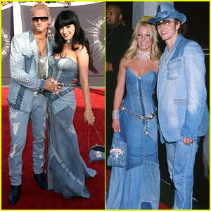Katy Perry's Jean Dress at the MTV VMAs 2014 is a Britney Spears Replica!