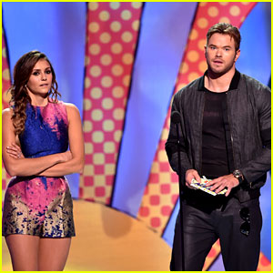Kellan Lutz Stands Five Feet from Nina Dobrev to Avoid Dating Rumors!