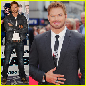 Kellan Lutz Cleans Up Nicely at 'Expendables 3' London Premiere