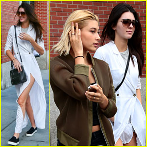 Kendall Jenner & Hailey Baldwin Keep Their NYC Friendship Going!
