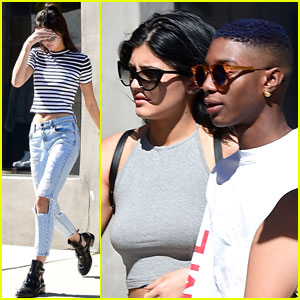 Kendall & Kylie Jenner Keep it Casual for a Coffee Run!