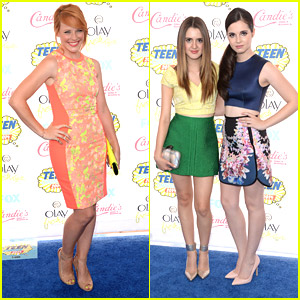 Laura & Vanessa Marano Bring Their Sister Style To Teen Choice Awards 2014!