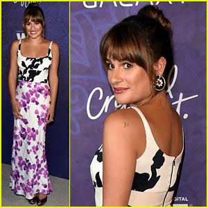 Lea Michele Celebrates Emmy Nominees with Variety!