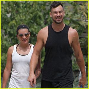 Lea Michele Goes Hiking with Her Beau Matthew Paetz!