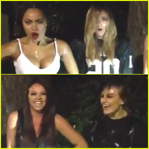 Little Mix Take The ALS Ice Bucket Challenge - See The Video Here!