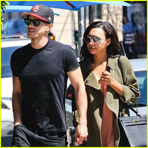 Naya Rivera & New Husband Ryan Dorsey Grab Lunch at Birds Cafe
