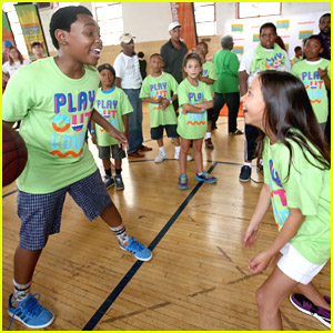 'Haunted Hathaways' Brenna Yde & Curtis Harris Bring Worldwide Day of Play to Detroit!