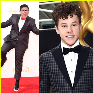 Modern Family's Nolan Gould & Rico Rodriguez Know That Bowties Are Cool at Emmy Awards 2014
