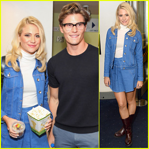 Pixie Lott Goes Retro for 'The Guvnors' Premiere with Oliver Cheshire