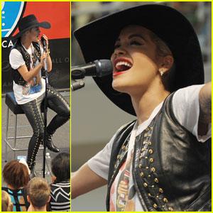 Rita Ora Reportedly No Longer Performing at the Teen Choice Awards 2014