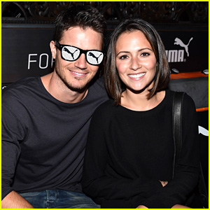 Robbie Amell & Italia Ricci Make a Date Night Out of the Justin Timberlake Concert!
