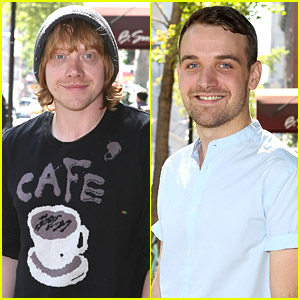Rupert Grint & Micah Stock: 'It's Only A Play' Photo Call in NYC