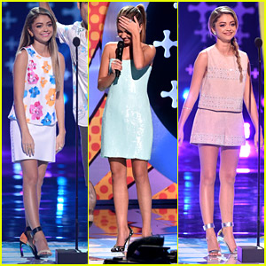 Sarah Hyland Stole The Entire Teen Choice Awards 2014 Show With Her Style Game