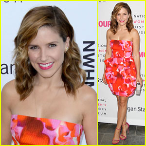 Sophia Bush Gets Honored at the Women Making History Brunch!