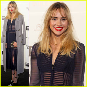 Suki Waterhouse is a Burberry Babe In Brazil!