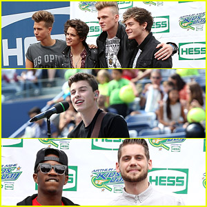 The Vamps, Shawn Mendes & MKTO Rock Out Arthur Ashe Kids' Day 2014!