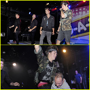 Union J Splashes Around at G-A-Y in London!