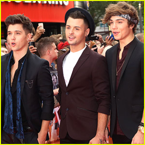Union J Hit The 'Inbetweeners 2' Premiere