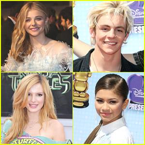 Chloe Moretz & Ross Lynch Top Variety's Top Teen List