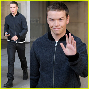 Will Poulter Continues to Promote 'The Maze Runner' in London