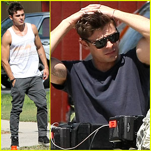 Zac Efron Steps Out After Michelle Rodriguez Split