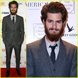 Andrew Garfield Boasts Bushy Beard at '99 Homes' TIFF Premiere