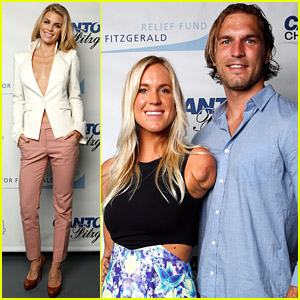 AnnaLynne McCord & Surfer Bethany Hamilton Lend Helping Hands For Cantor Fitzgerald's Charity Day 2014