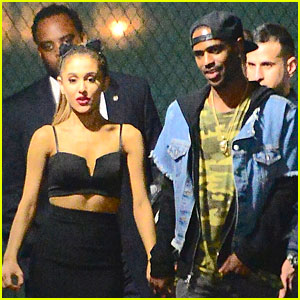 Ariana Grane & Big Sean Hold Hands at 'SNL' Party!