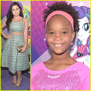 Ariel Winter & Quvenzhane Wallis Hit Up 'My Little Pony: Equestria Girls' Premiere