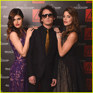 Alexandra Daddario & Ashley Greene Premiere 'Burying The Ex' In Venice with Anton Yelchin