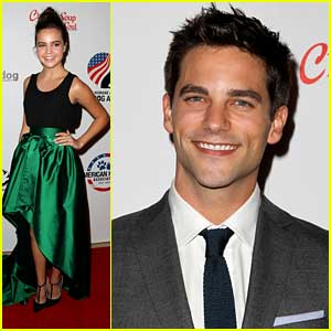 Bailee Madison & Brant Daugherty Honor Hero Dogs with American Humane Association