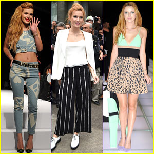 Bella Thorne is Taking Milan by Storm During Fashion Week!